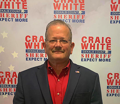 White announces candidacy for DeKalb County Sheriff