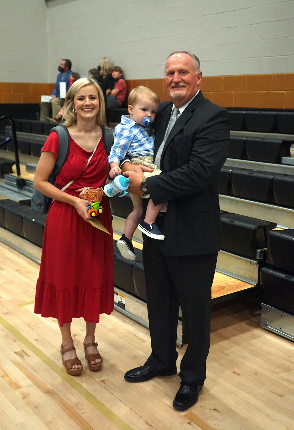 Cunningham honored in retirement reception