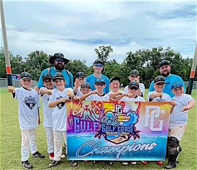 Travel baseball team brings home the trophy