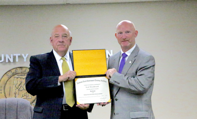 Westbrook recognized for local government training