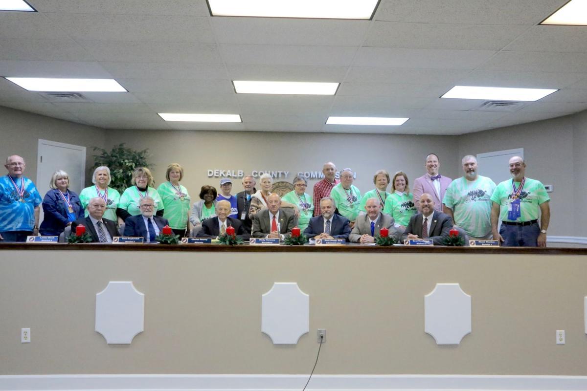 Ledbetter recognized for recent legislation for county employees