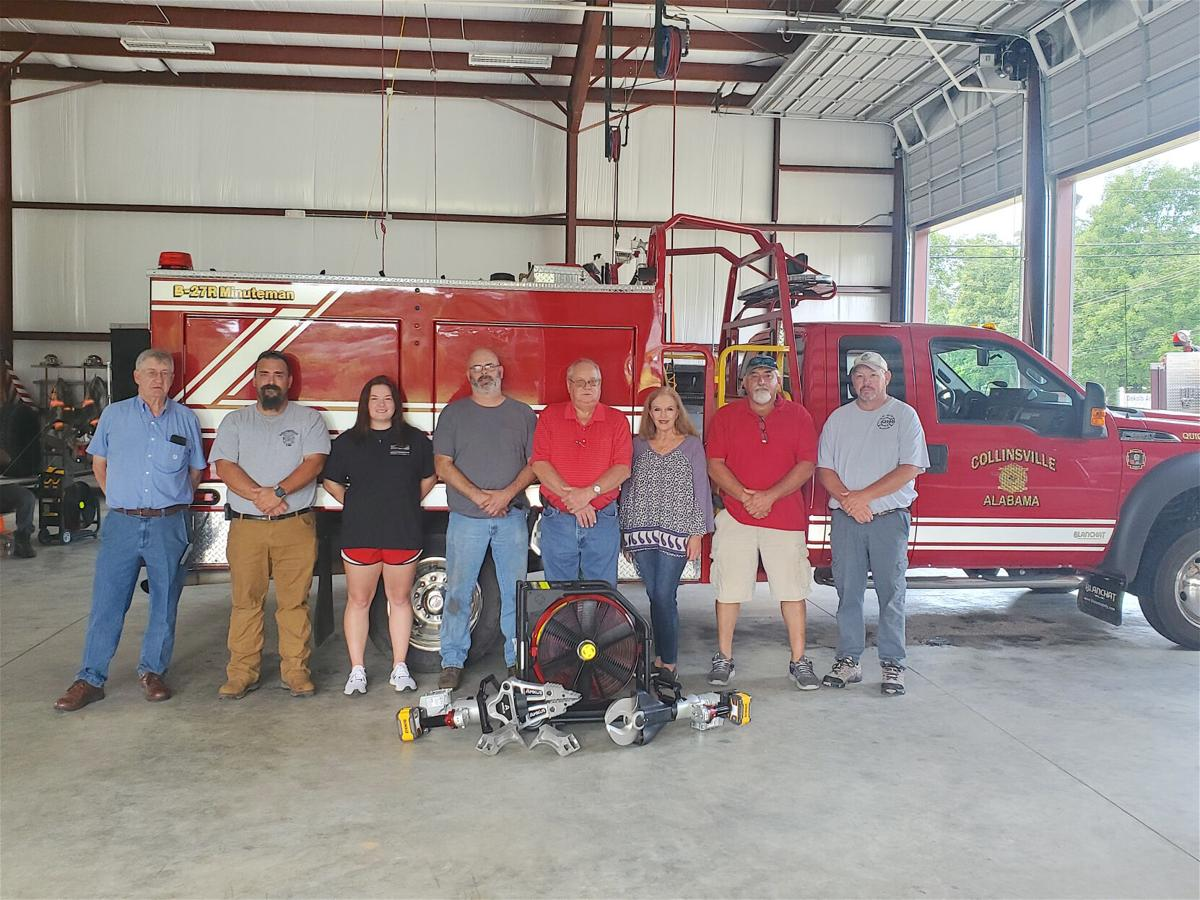Collinsville FD receives life-saving rescue equipment