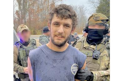 Higdon man captured after manhunt