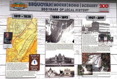 Fort Payne's Bicentennial timeline