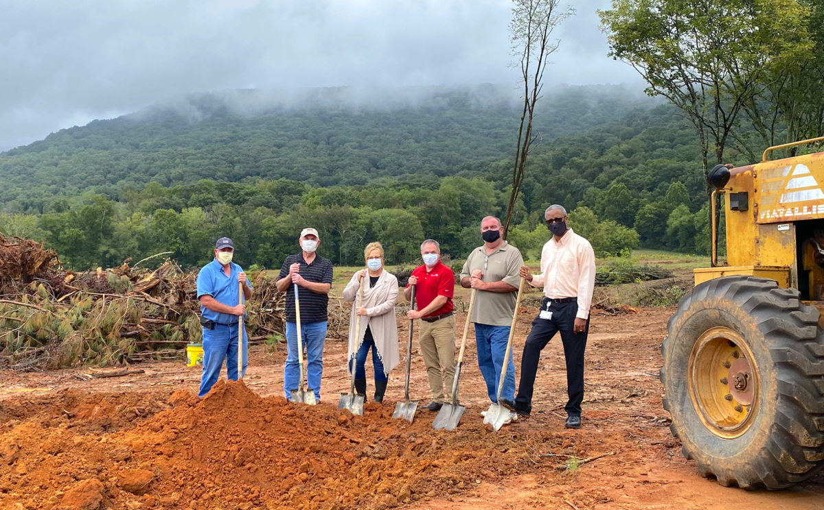 City breaks ground on new Fort Payne Sports Complex