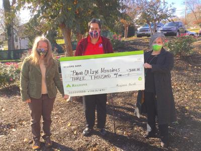 Regions Bank announces donation to Bread of Life Ministries