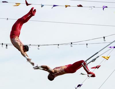 Fair begins Monday: Aerial troupe to join this year's new events