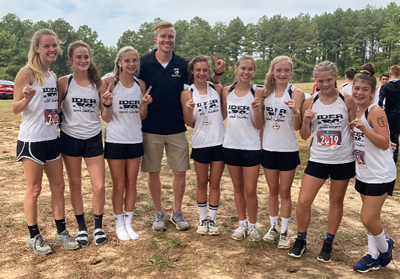 Ider girls win Jackson/DeKalb County Meet