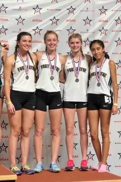 Wildcats clock fast times at state indoor meet