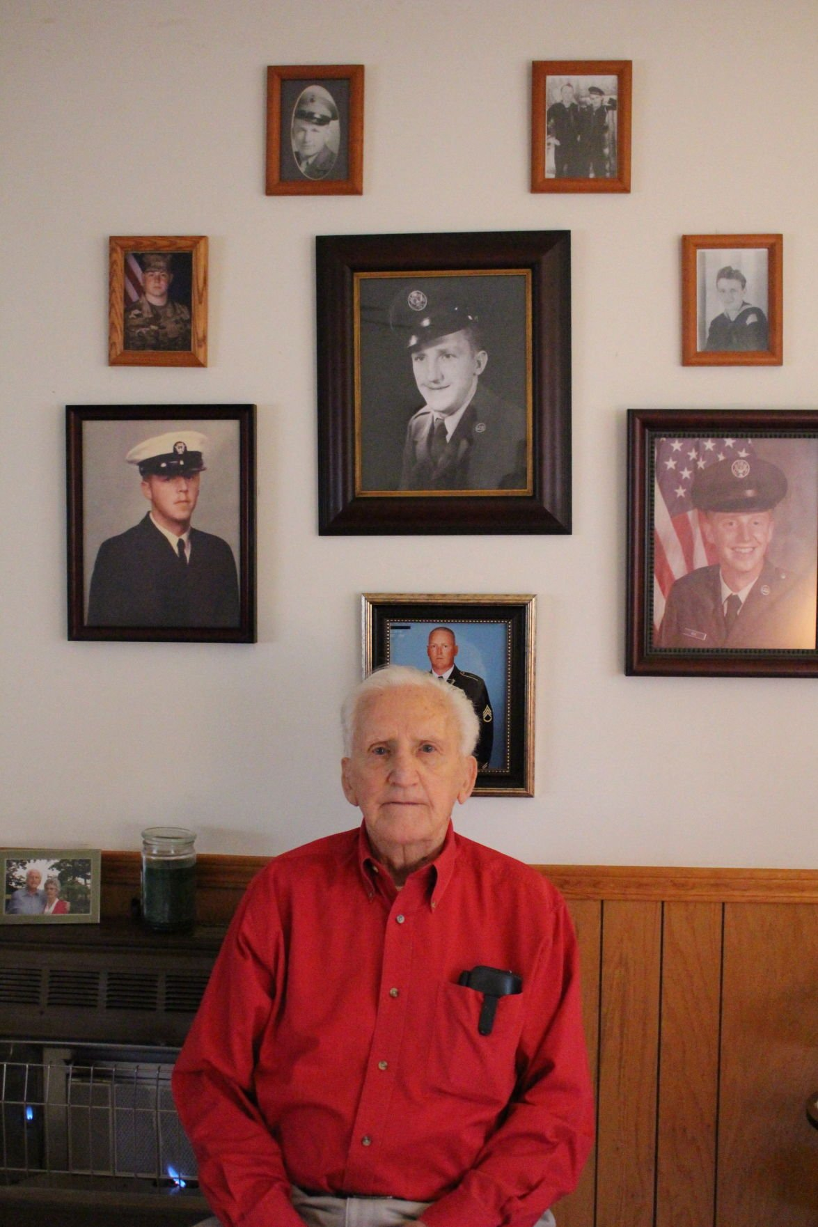 100 years of family veterans