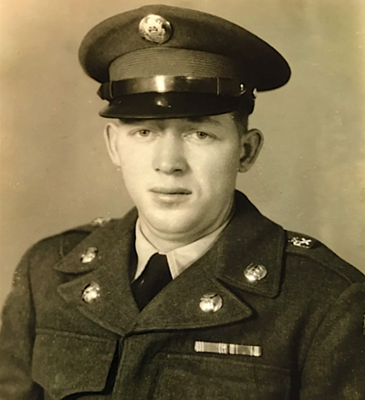 Soldier coming home 70 years later