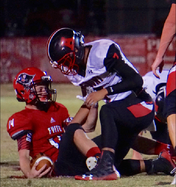 Red Devils rout Rams for record win total