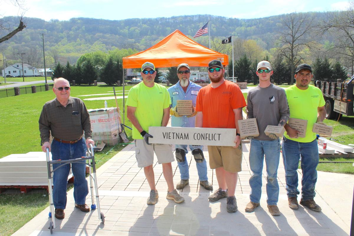 Patriots Memorial Park construction sees progress