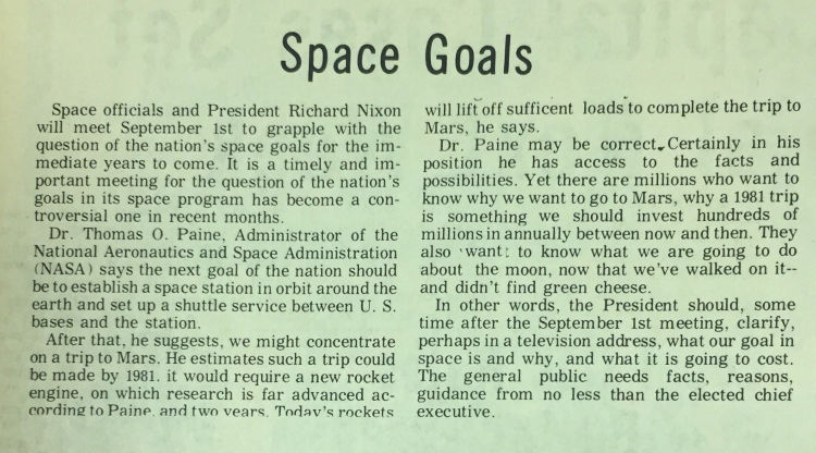 From the Archives | Response to the 1969 Moon Landing