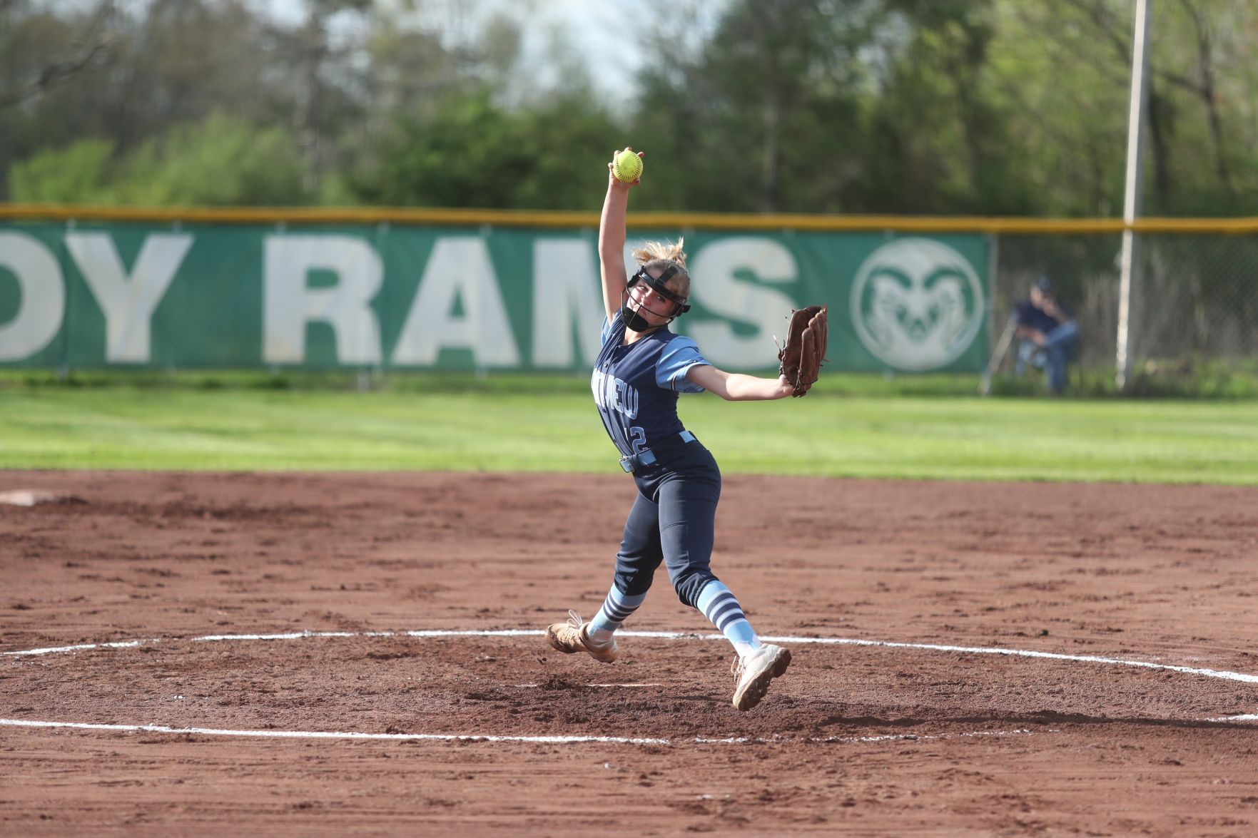 Boswell's 1-hit shutout lifts Lady Bears past rival Rams