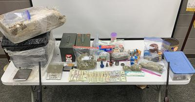Narcotics and Interdiction Unit seizes 25 lbs of marijuana, meth and guns