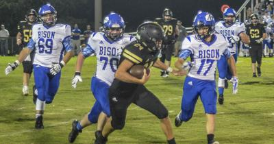 Bison trample hornets in 2A Region 7 matchup