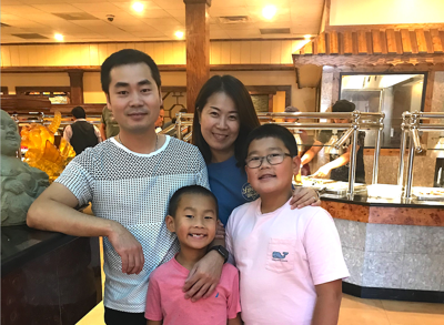 Bread of Life Ministry thanks Chen family of Chow King for food donation