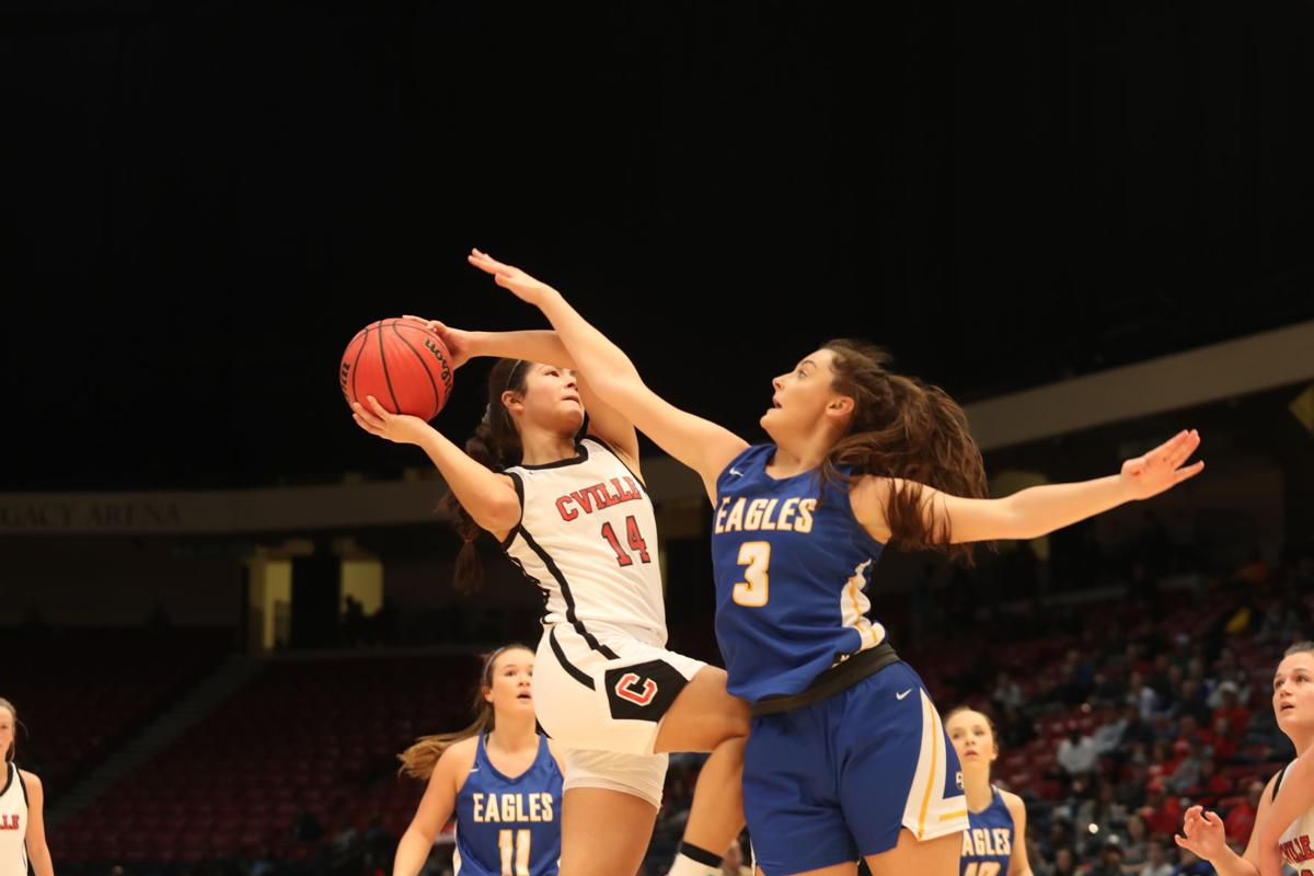 Collinsville girls dethrone Cold Springs for 2A title