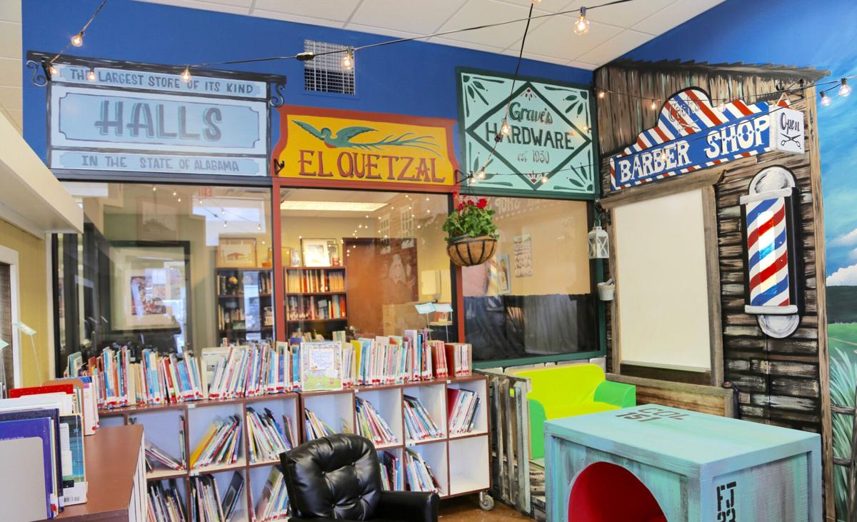 Collinsville Library reveals completion of 'Our Town'