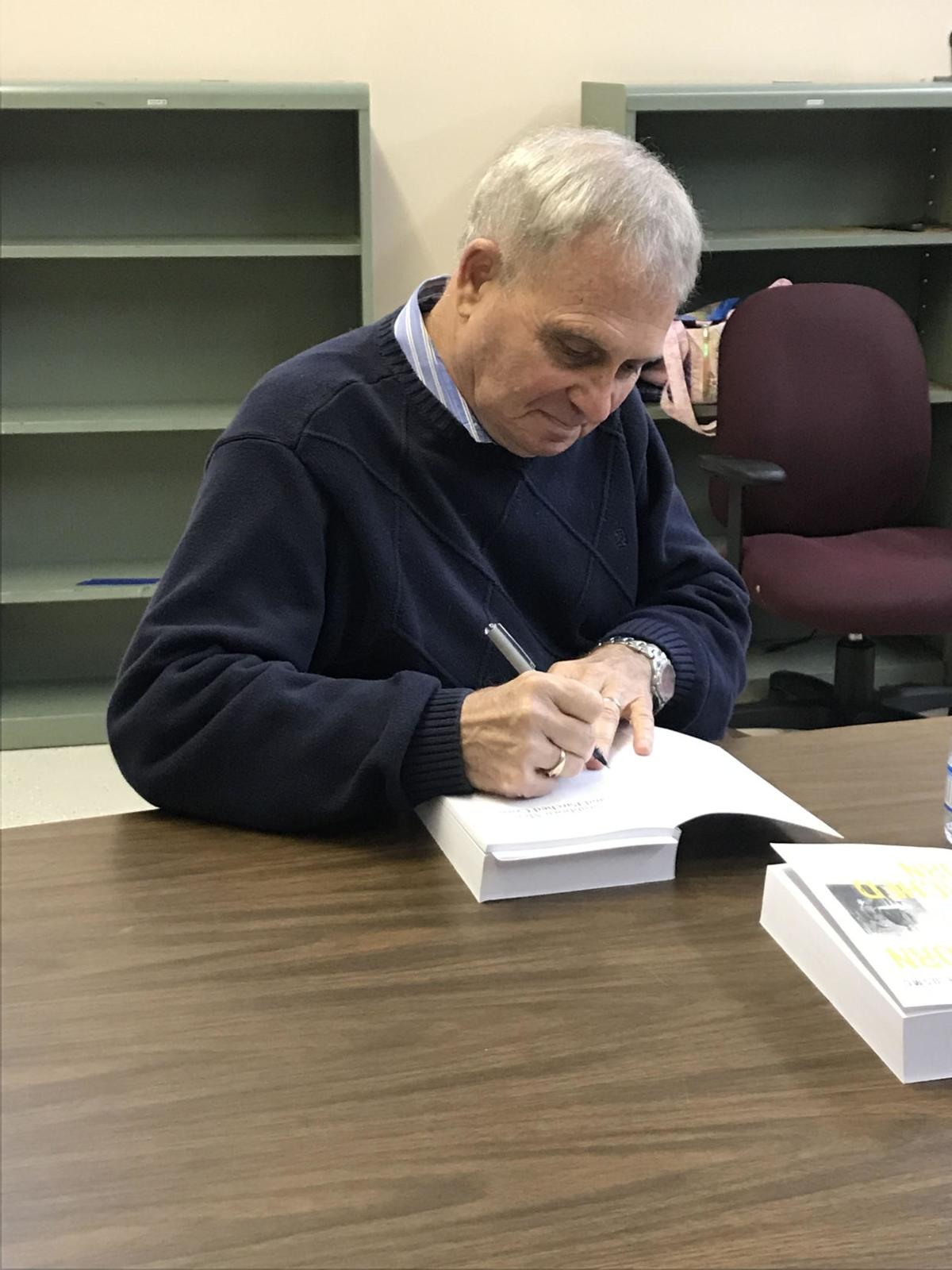 Ider Library promotes local author