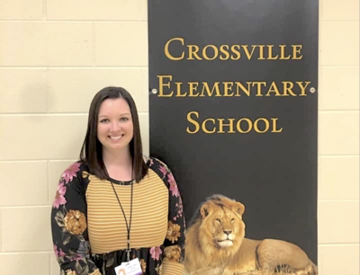 Crossville Elementary's Brittany Sears named VFW Teacher of the Year