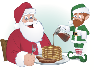 Breakfast with Santa to support Relay for Life