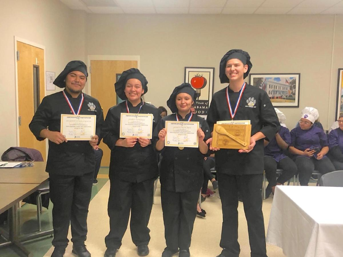 Culinary team excels at Junior Chef Competition