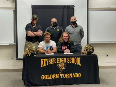 Keyser duo signs to play college football