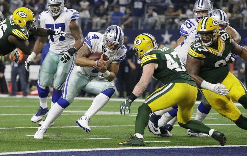 Disappointing end, promising future for Prescott-led Cowboys
