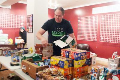 Local group collects groceries for folks impacted by COVID-19