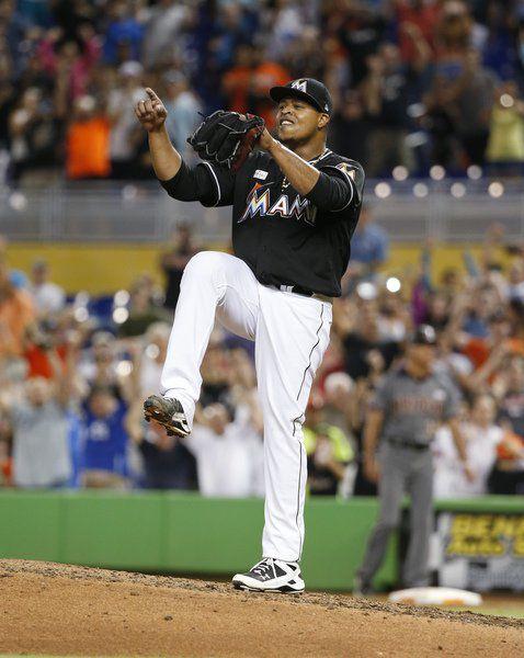 Marlins' Volquez no-hit Diamondbacks; Yankees blank Blue Jays