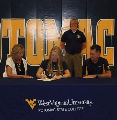 Douthitt signs with Potomac State