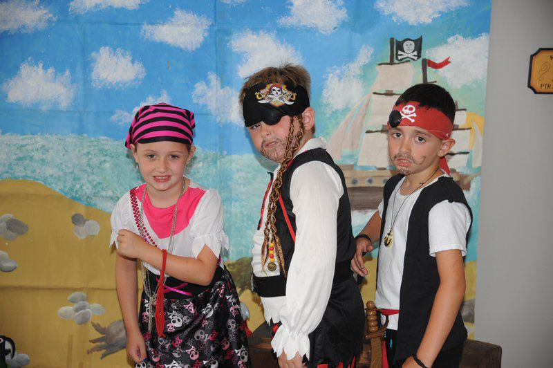 Little pirates invade Frostburg