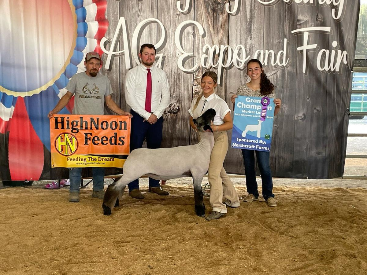 Photos from the 2021 Allegany County Fair and Ag Expo 4-H competition