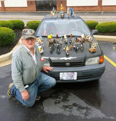 81-year-old Kentucky man glues toys to car for attention -- and to woo women