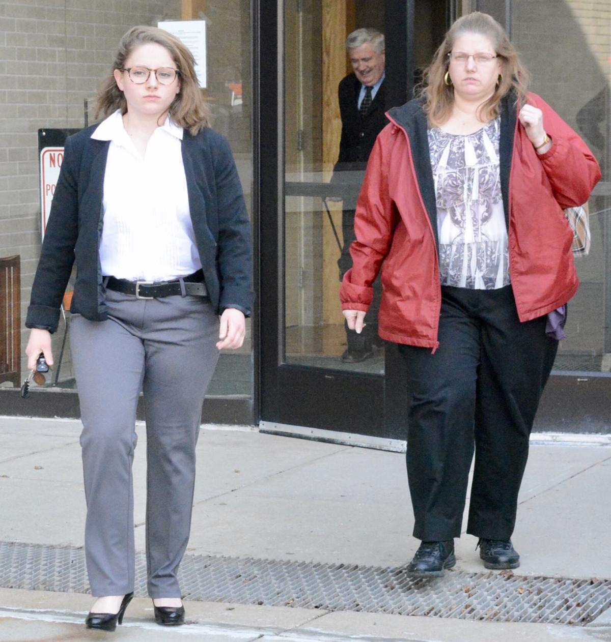 Megan Shaffer and Brenda Shaffer 1-29-18