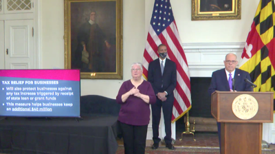 Hogan announces stimulus for some Marylanders, security for ...