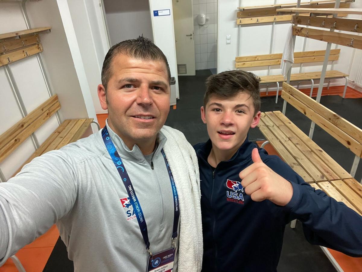 Bo Bassett at Cadet World Championships