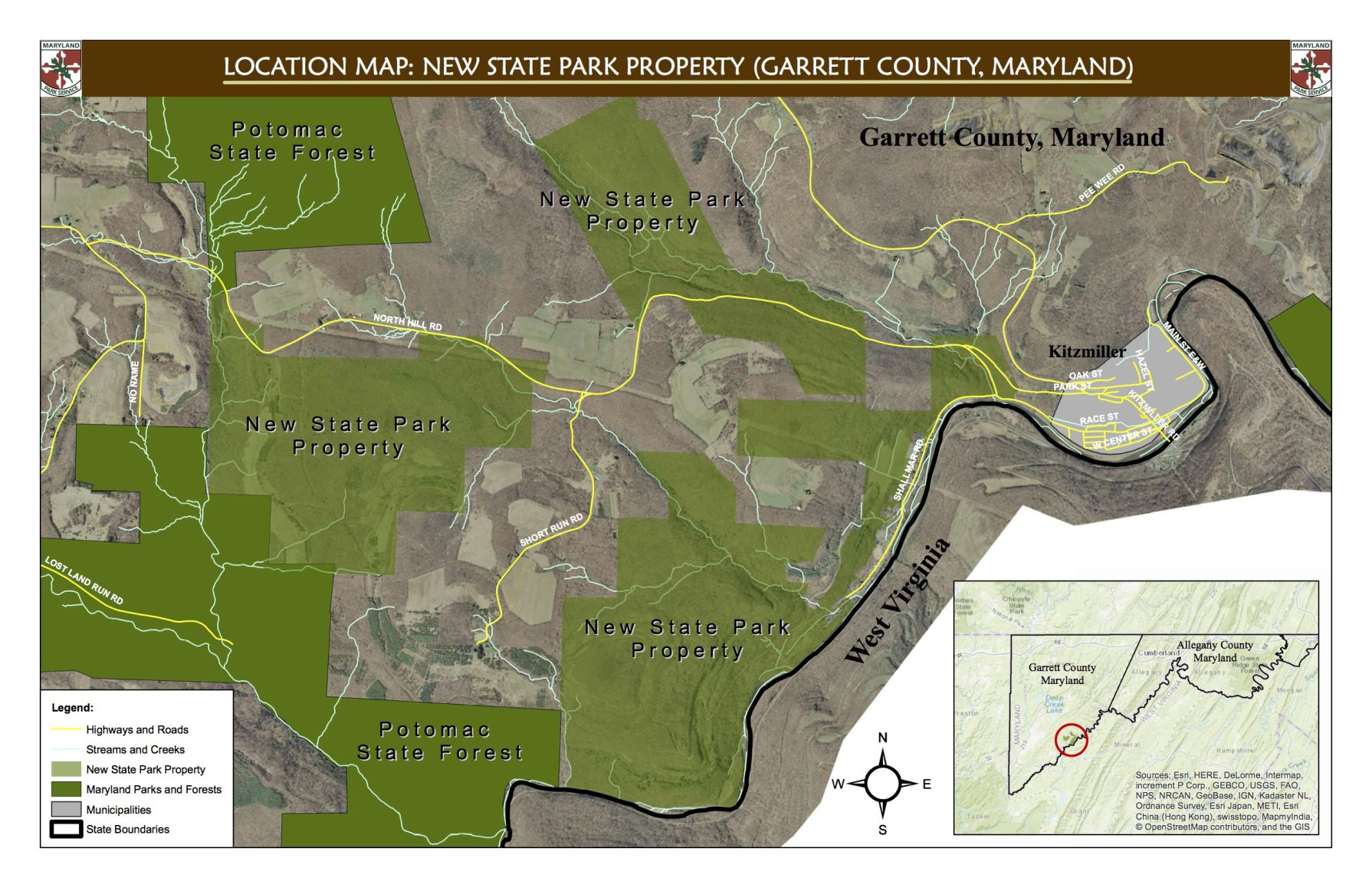 Maryland seeks name for new park in