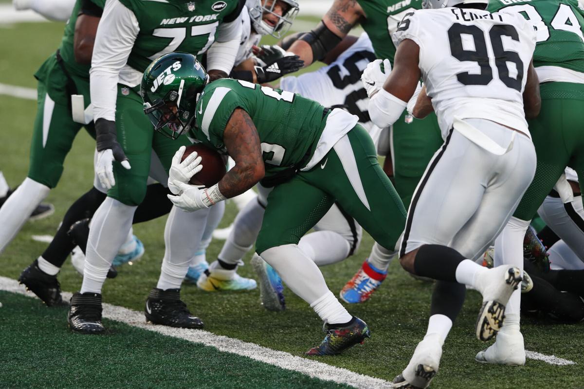 Ty Johnson's first touchdown