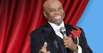 Sonny Turner, former lead singer for The Platters, in Queen City on Feb. 22
