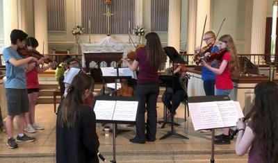 Concerts part of Mountainside Baroque Summer Academy | Slice