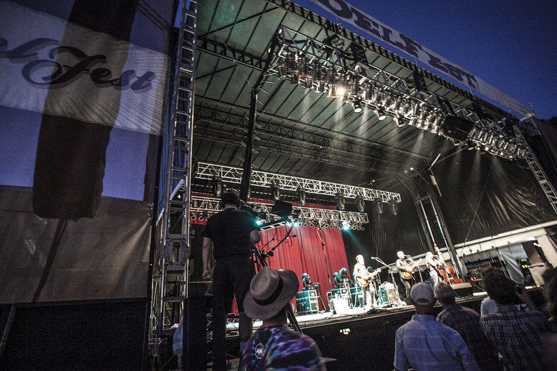 'A big undertaking': Meeting the needs of DelFest's acts