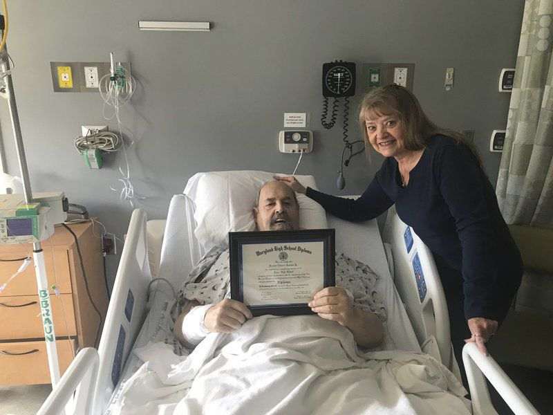 'It's my duty': Veteran gets diploma 52 years after service