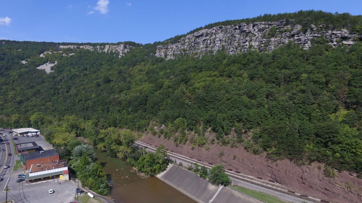 Mountainside below Lovers Leap - 9-8-15