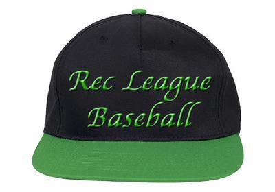 Baseball Hat Rec League