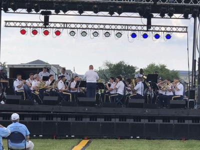 229th Army Band at Constitution Park