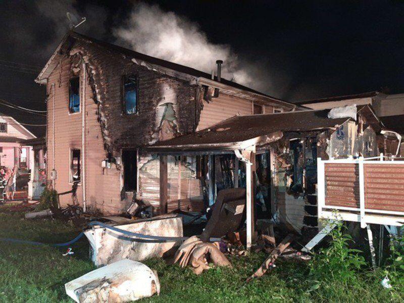 Lonaconing residence heavily damaged by fire