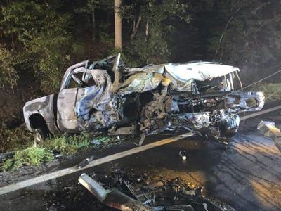 Hampshire deputy pulls driver from burning vehicle